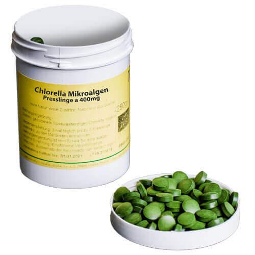 Chlorella Mikroalgen von unserem Partner Topfruits