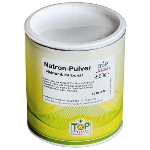 Natron-Pulver von unserem Partner Topfruits